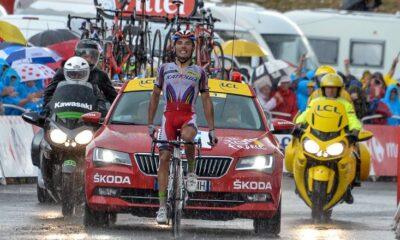 Purito Rodriguez, vincitore a Plateau de Beille