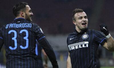 Xherdan Shaqiri e Danilo D'Ambrosio, probabili cessioni dell'Inter