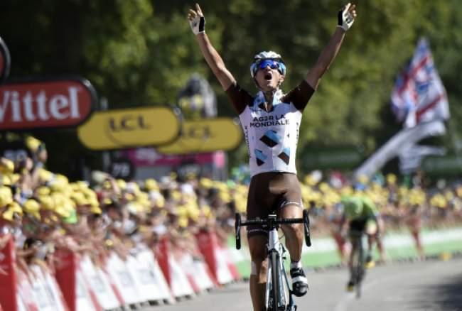 Vuillermoz vince l'ottava tappa del Tour, Nibali in difficoltà
