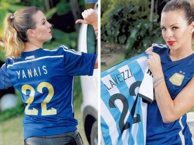 Yanina Screpante, fidanzata di Lavezzi
