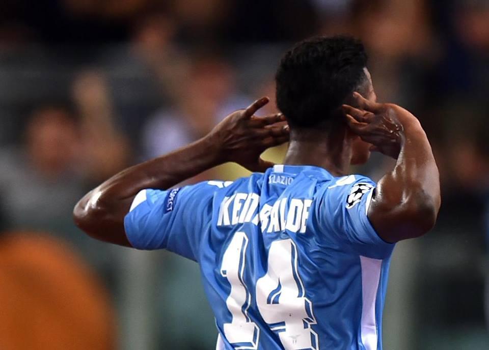 Keita Lazio-Bayer Leverkusen 1-0.