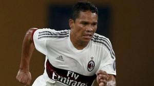 Carlos Bacca ha deluso alla prima in campionato con la maglia del Milan.