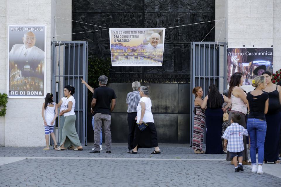 Funerale di Vittorio Casamonica