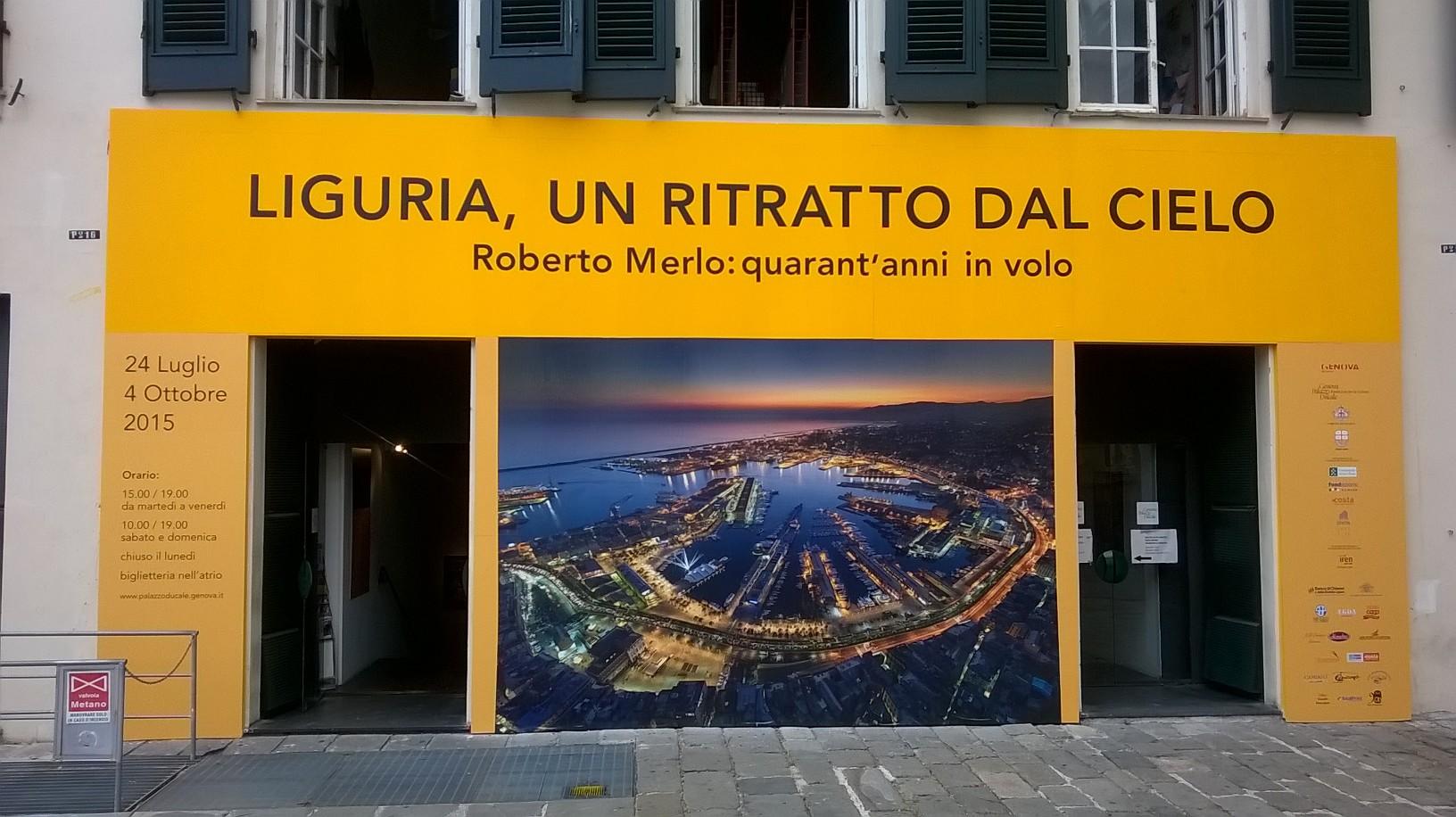 Liguria un ritratto dal cielo alla Loggia degli Abati