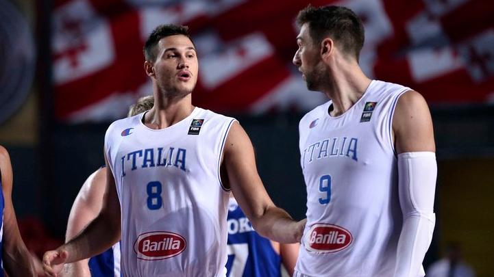 Danilo Gallinari e Andrea Bargnani, tasselli decisivi nell'Italbasket di Coach Pianigiani