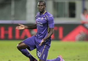 Khouma Babacar, unico attaccante che non ha deluso le aspettative della Fiorentina