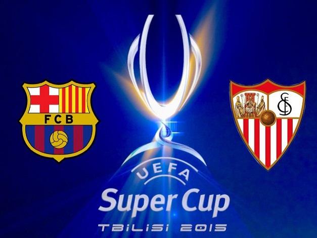 Barcellona-Siviglia è il match che assegna la SuperCoppa Europea