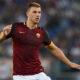 Edin Dzeko Roma Serie A.
