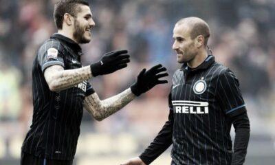 Icardi e Palacio, possibile coppia d'attacco dell'Inter