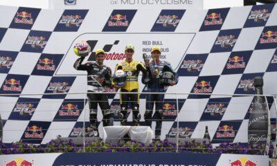 podio Moto2 #IndyGP