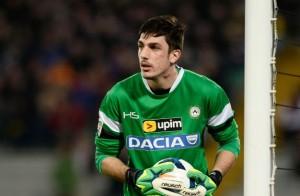 Simone Scuffet, passato dall'Udinese al Como in prestito