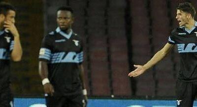 debacle Lazio a Napoli.