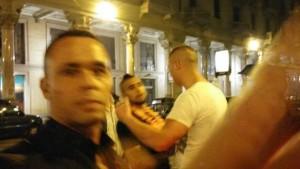 Vidal rissa in discoteca
