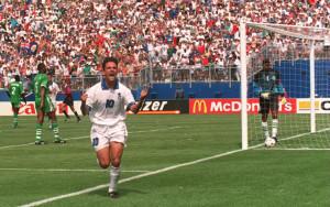 Roberto Baggio nel mondiale di USA '94