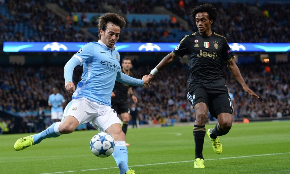 Cuadrado Manchester City-Juventus