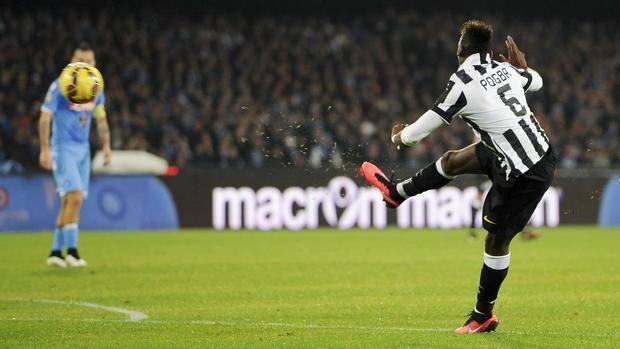 Napoli-Juventus Pogba.