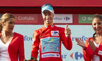 Fabio Aru, leader della Vuelta