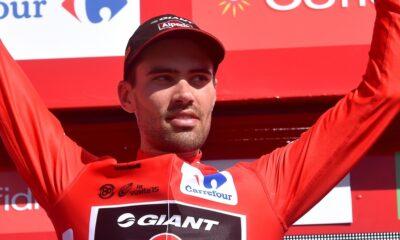 Tom Dumoulin, leader della Vuelta