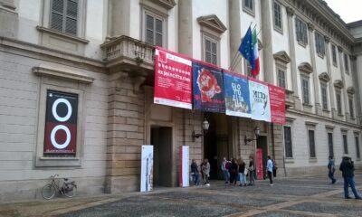 Giotto, l'ingresso a Palazzo Reale