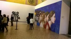 Giotto, l'ingresso della mostra