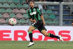 Gregoire Defrel porta il Sassuolo in vantaggio in soli tre minuti