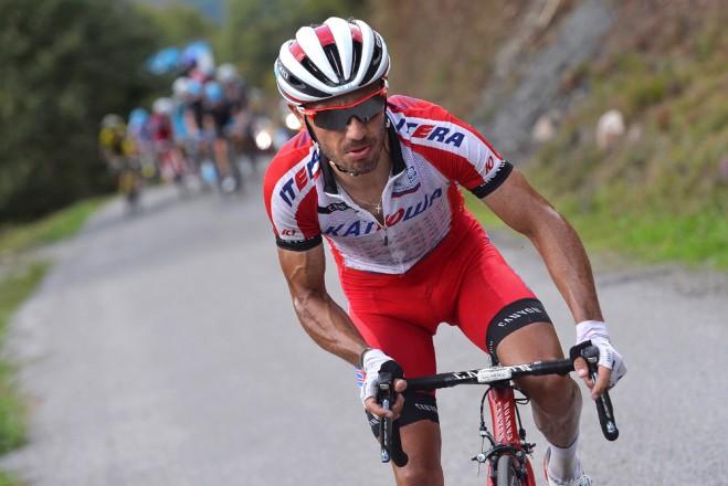 Joaquim Rodriguez, candidato alla vittoria finale della Vuelta