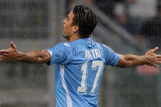 Lazio-Udinese Alessandro Matri porta la Lazio alla vittoria