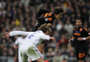 Rodrigo Taddei a segno in Real Madrid-Roma 1-2