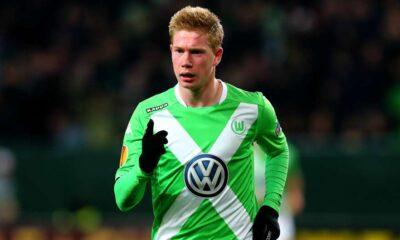 De Bruyne, venduto dal Wolfsburg in questa sessione di mercato