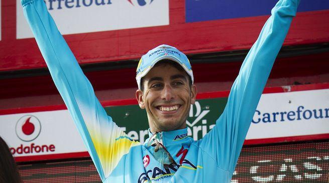Fabio Aru, due podi al Giro d'Italia