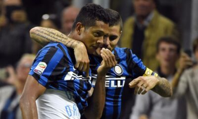 La rete di Guarin permette all'Inter di vincere il derby