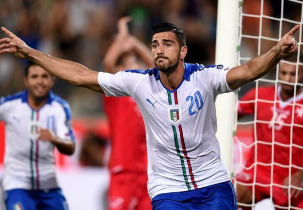 Pelle gol Italia.