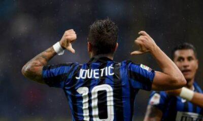 Stevan Jovetic, attaccante dell'Inter