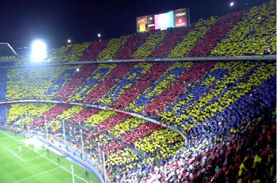 I tifosi del Barcellona, una delle squadre con più supporter nel mondo