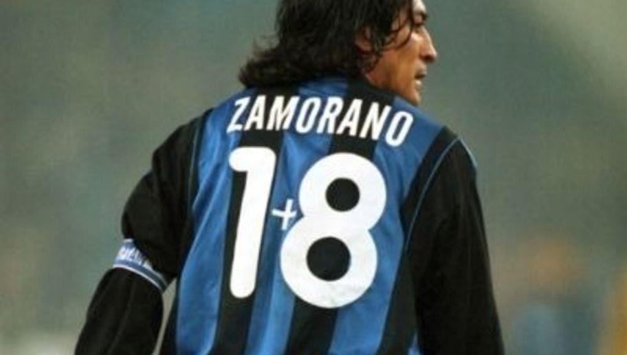 Zamorano e il suo 1+8, uno dei numeri di maglia più strani della storia