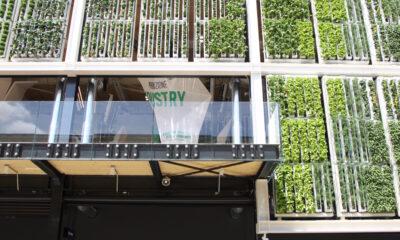 Expo Padiglione Usa dall'esterno, pannelli rotanti