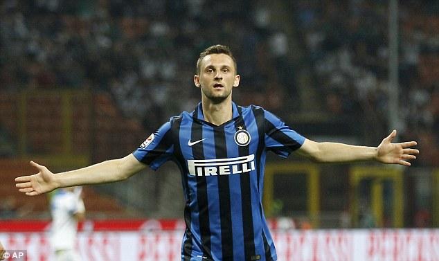 Marcelo Brozovic, diventato panchinaro nell'Inter di Mancini