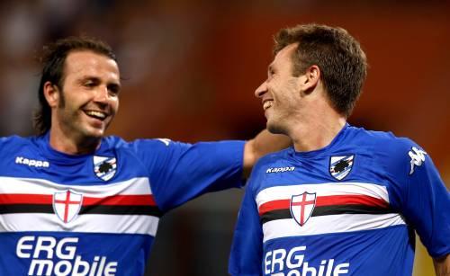 Cassano e Pazzini, due vecchie conoscenze della Serie A