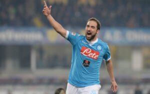 Napoli-Inter: Gonzalo Higuain, asso dell'attacco del Napoli
