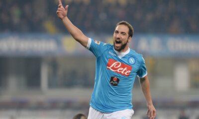 Gonzalo Higuain, asso dell'attacco del Napoli
