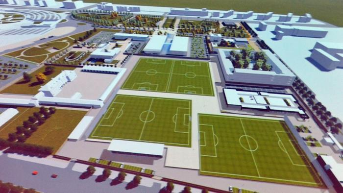 Il progetto del J Village, nuovo centro sportivo della Juventus
