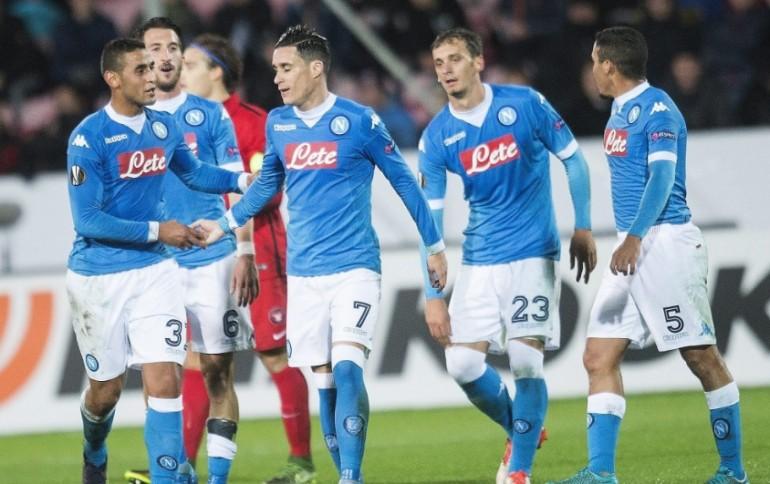 Il Napoli di Sarri è uscito vincitore dalla trasferta danese in Europa League