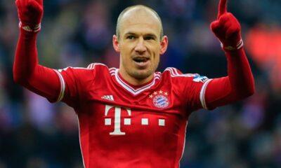 Arjen Robben, tra le sorprese nei candidati al pallone d'oro
