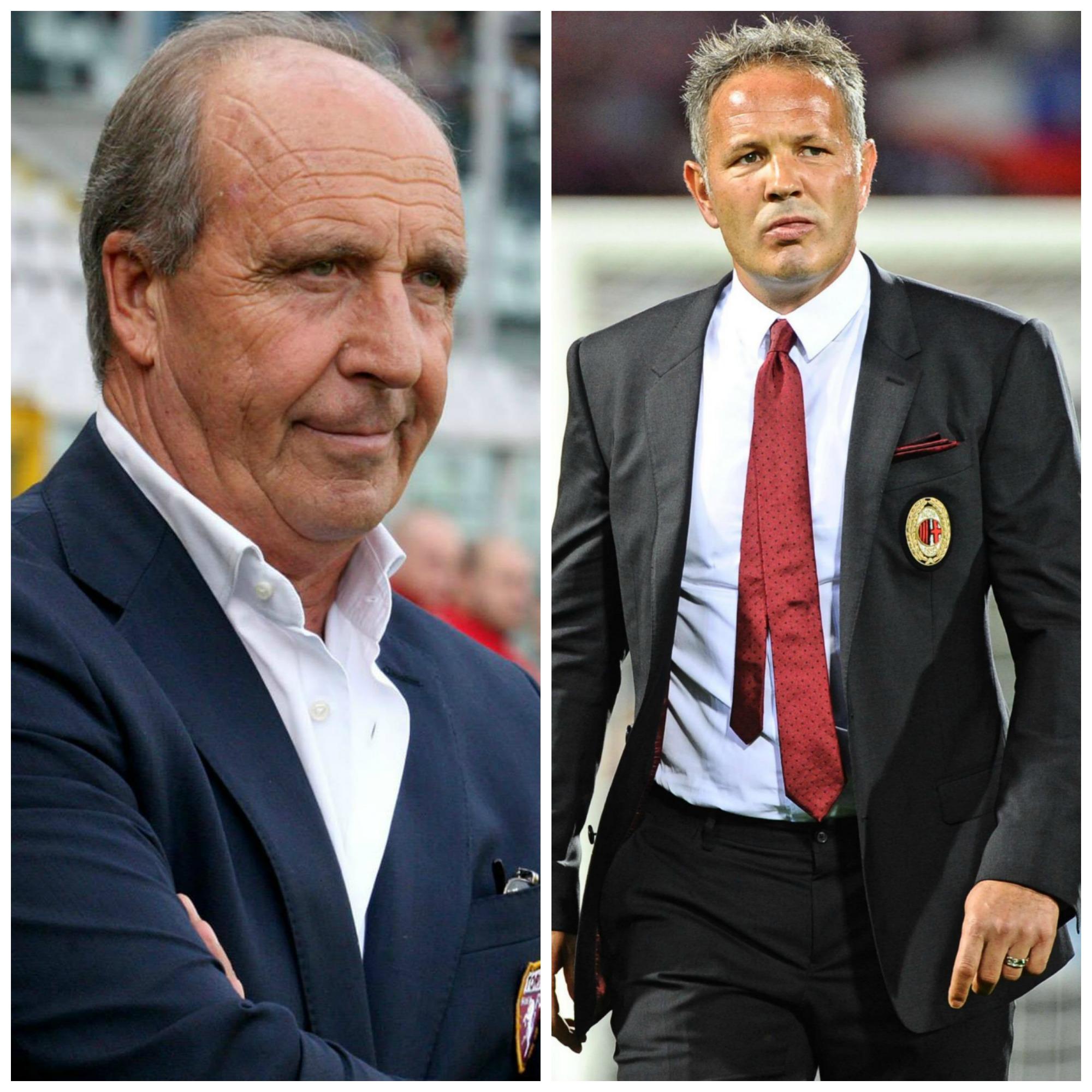 Ventura e Mihajlovic, allenatori di torino e Milan.