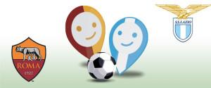 Acea, sponsor di entrambe le protagoniste del derby capitolino, Roma e Lazio.