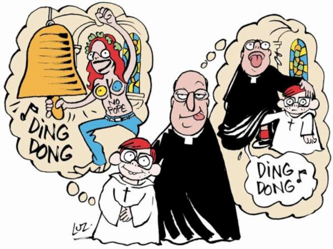 Charlie Hebdo, senza riguardi per nessuno...