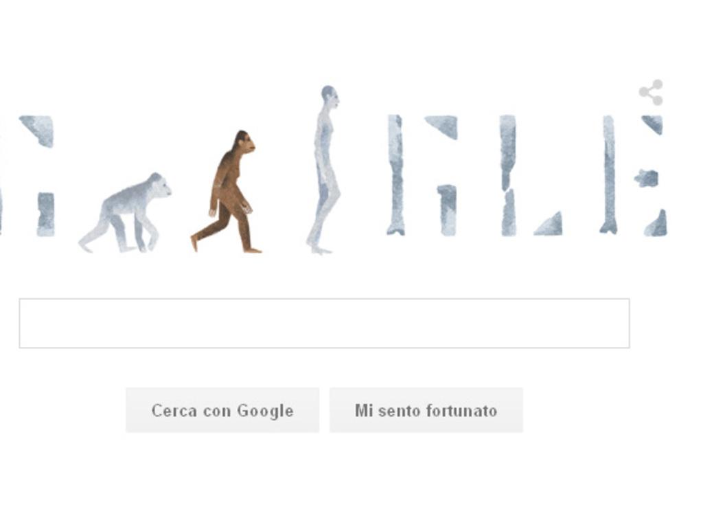 Il doodle di Google dedicato a Lucy