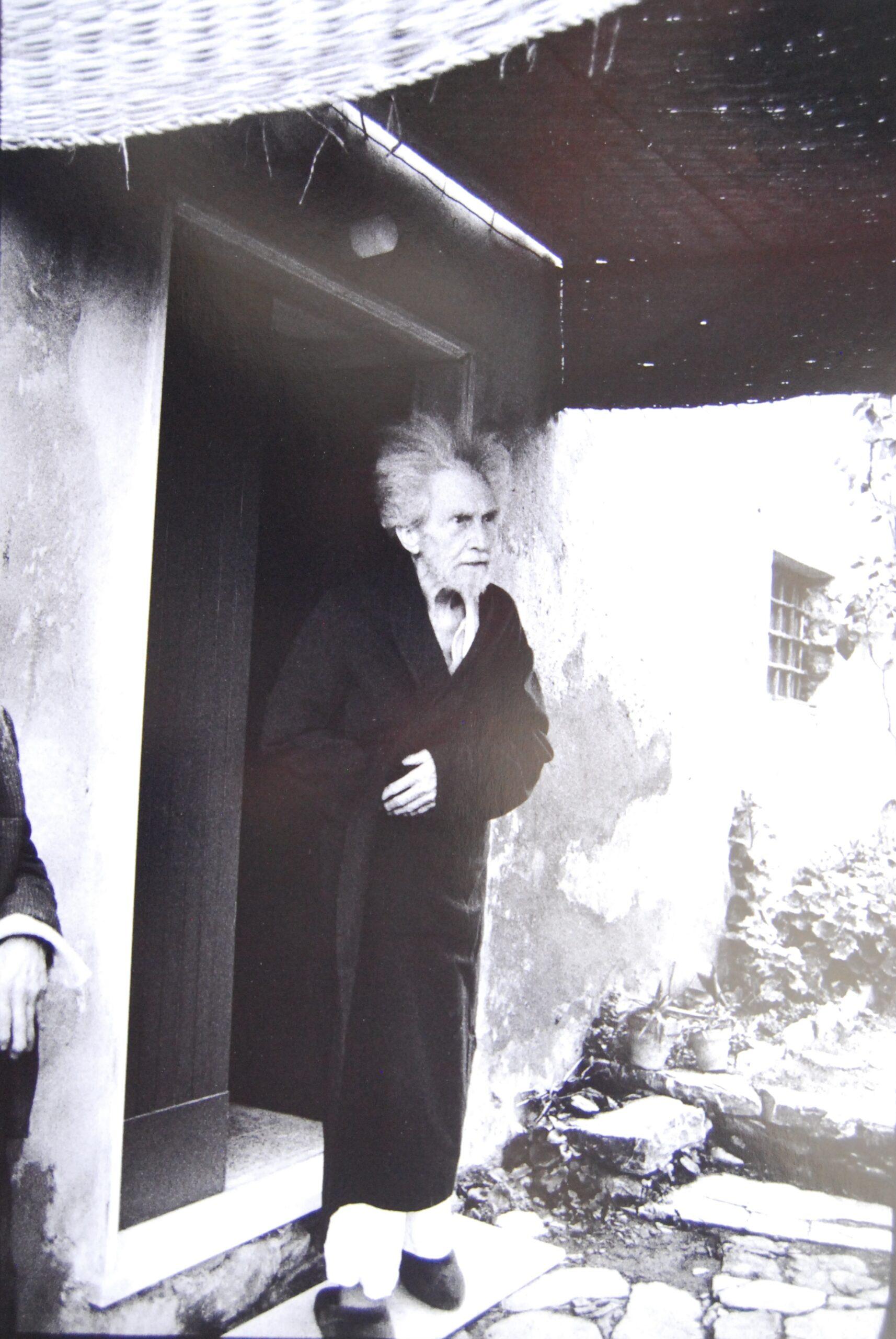 Lisetta Carmi,Ezra Pound, Sant'Ambrogio di Rapallo, 1966