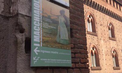 Macchiaioli, l'ingresso a Pavia
