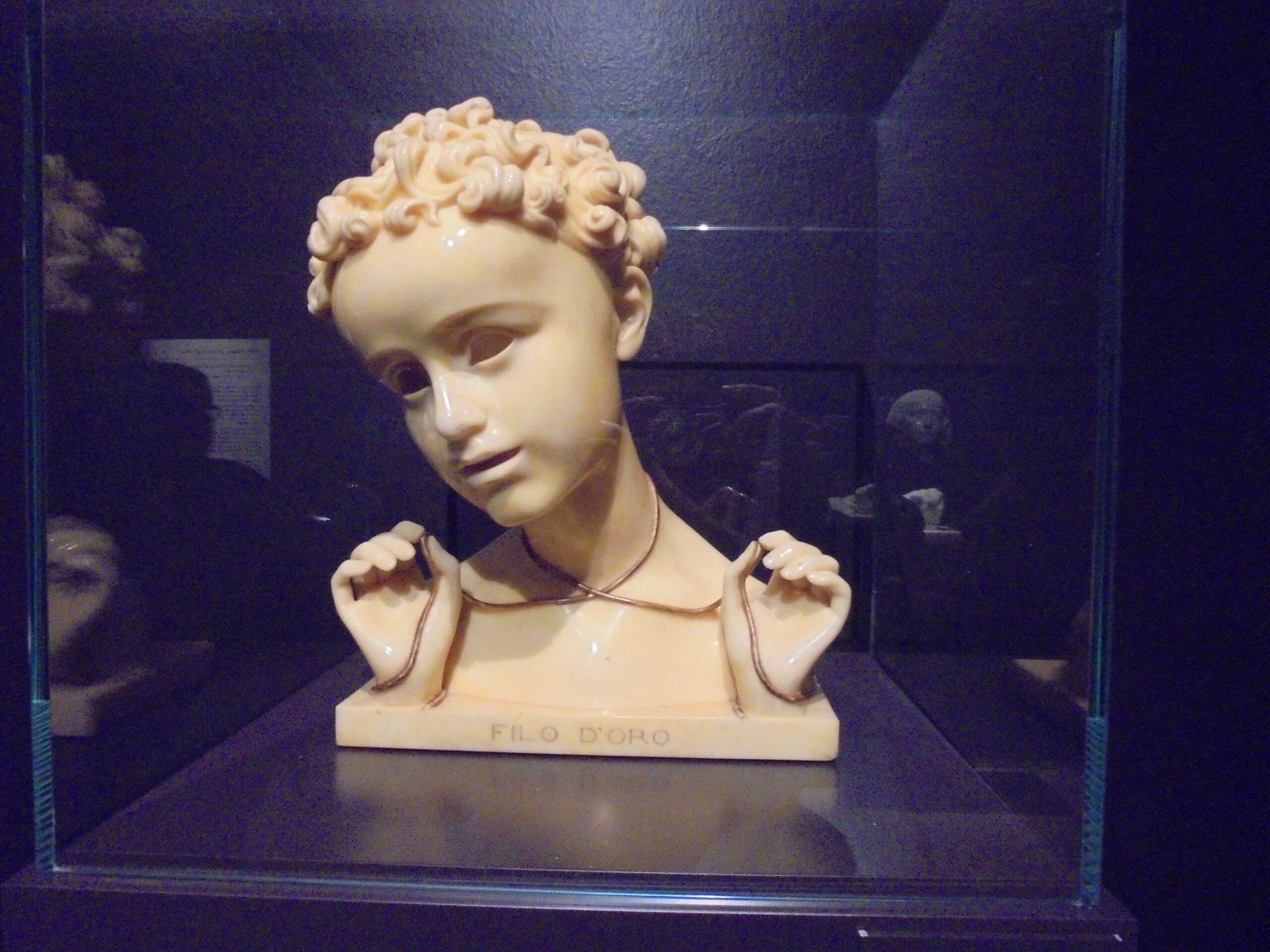 Wildt, una delle opere più delicate Filo d'oro